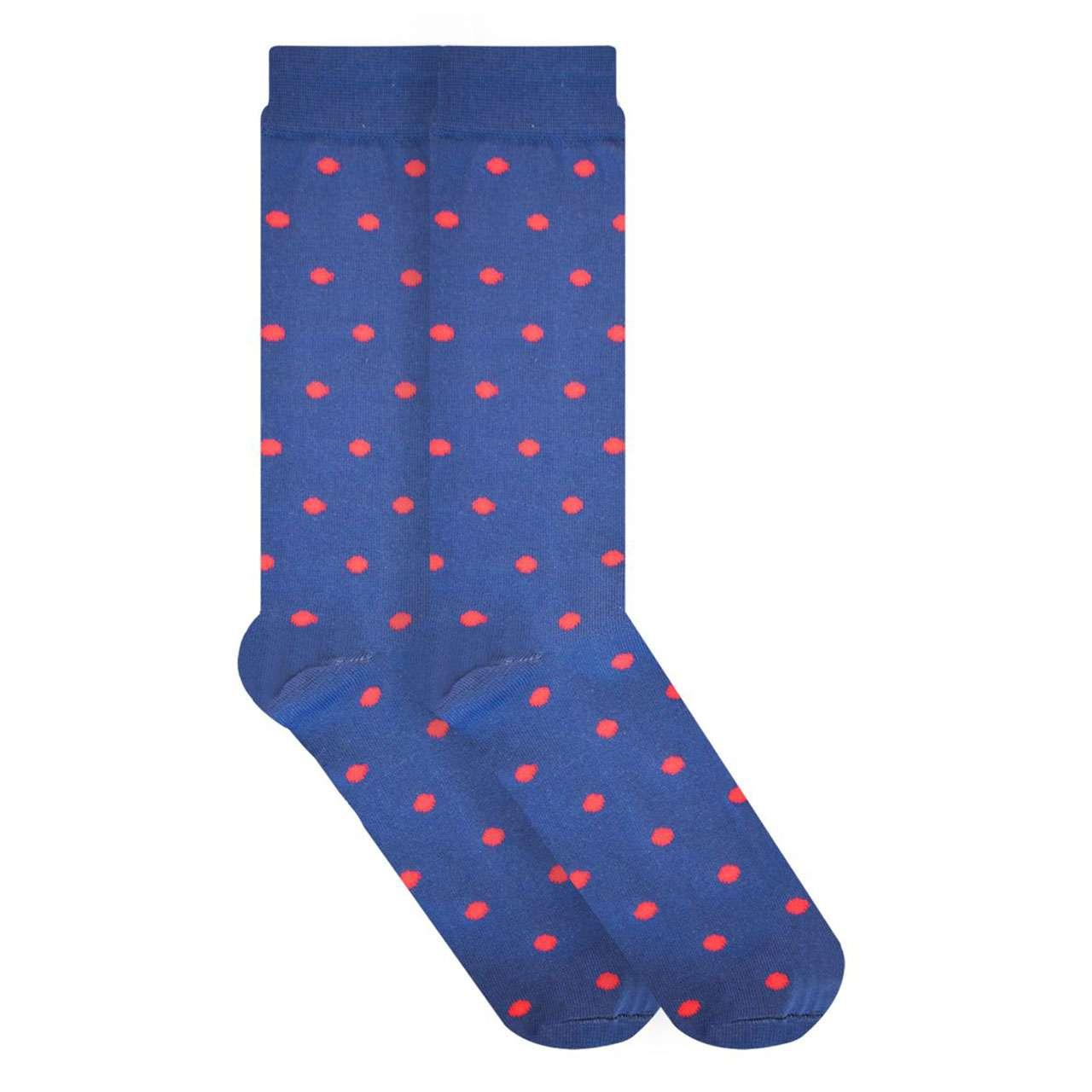 calcetin-azul-con-puntos-skunk-socks