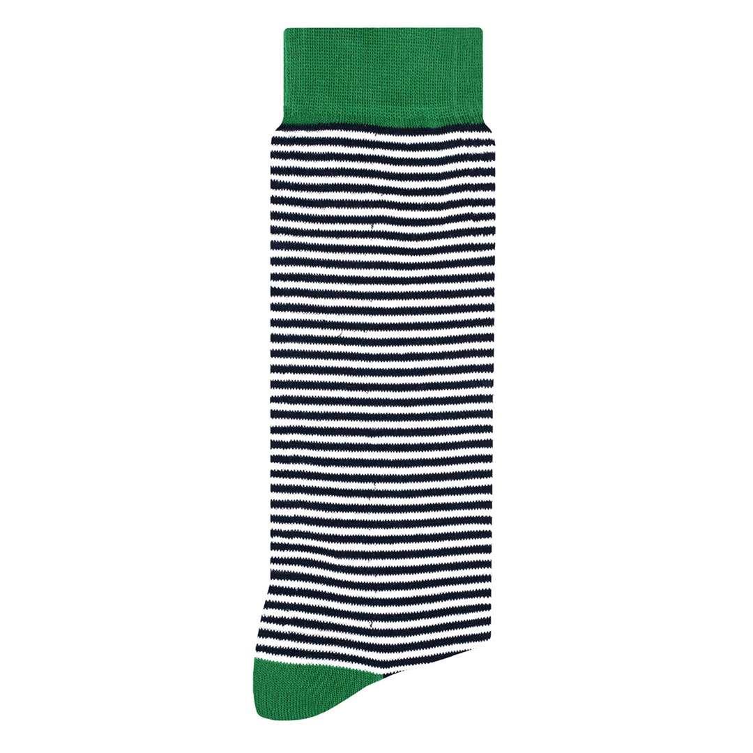 Zebra Calcetín con Diseño Divertido