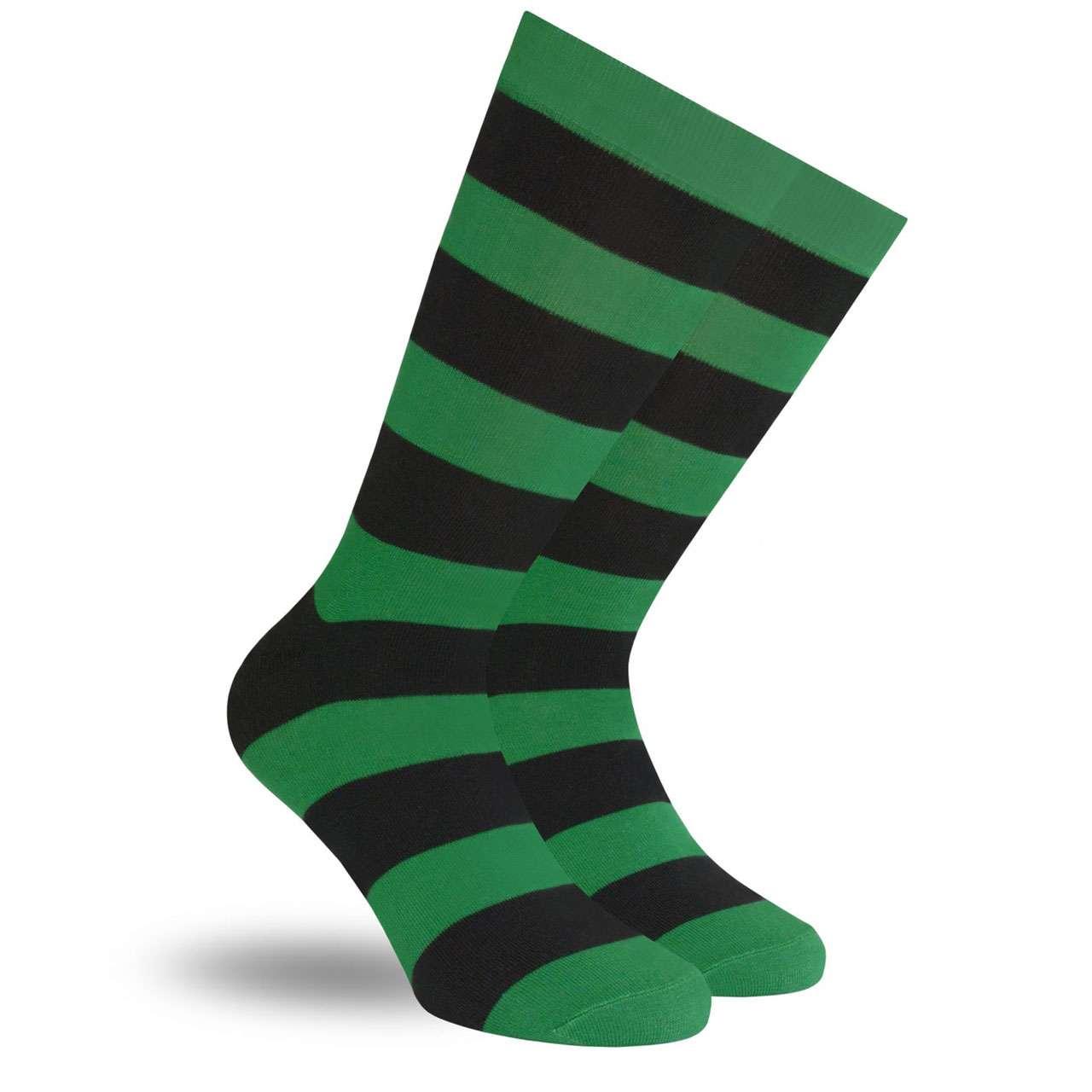 Wally Verde Calcetín con Diseño Original