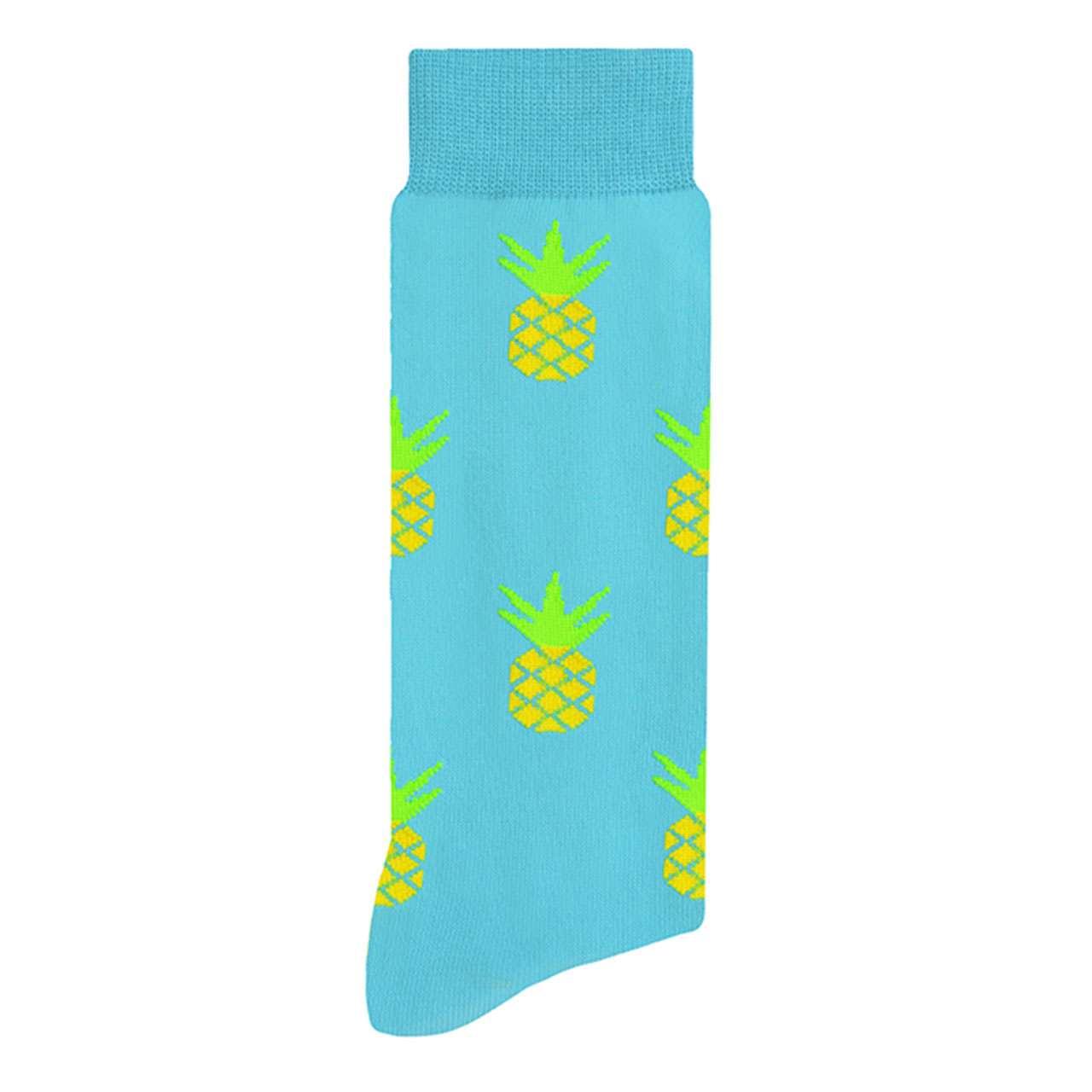 calcetin-de-pinas-azul-skunk-socks