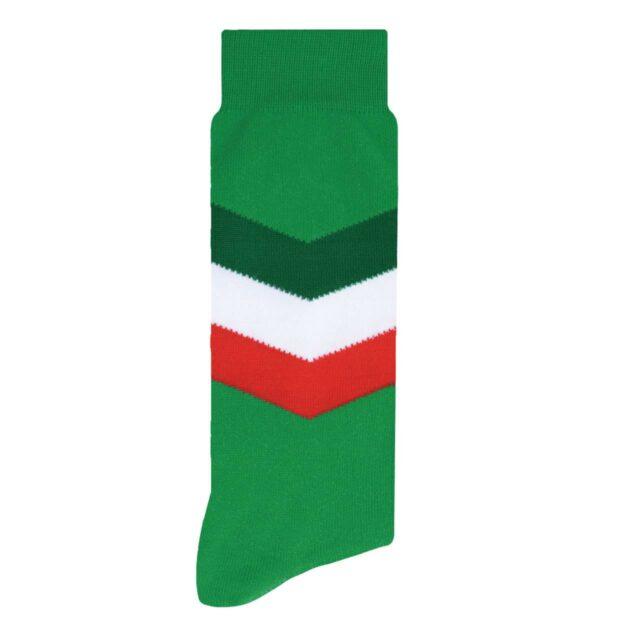 Selección Mexicana Calcetín Diseño de Colores