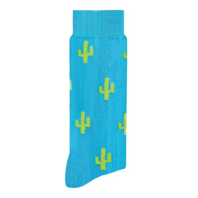 Cactus Calcetín con Diseño Estampado