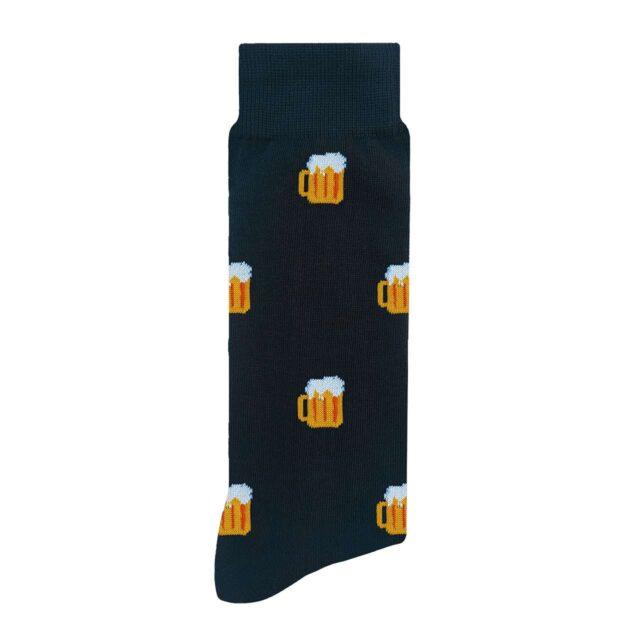 Cervezas Calcetín con Diseño Estampado