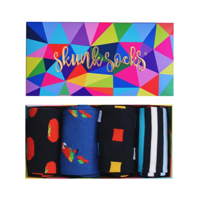 Paquete 3 Calcetines Con Diseños Divertidos
