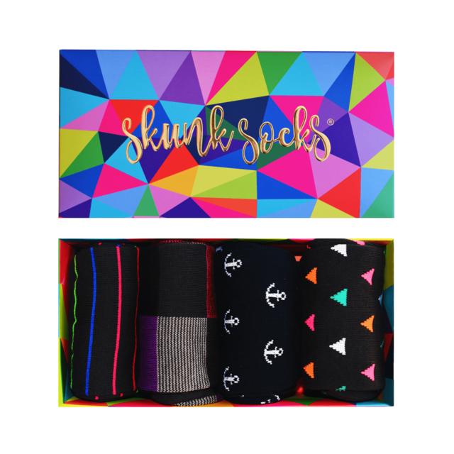 Paquete 6 Calcetines con Diseño Originales