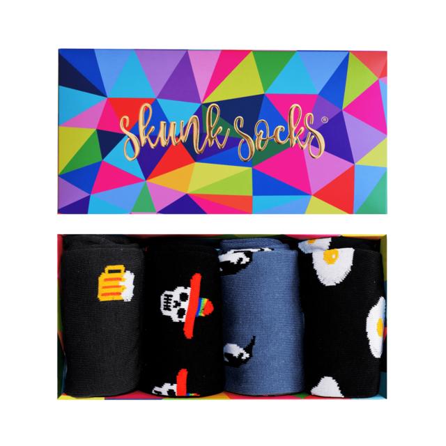 Paquete 7 Calcetines con Diseños Divertidos