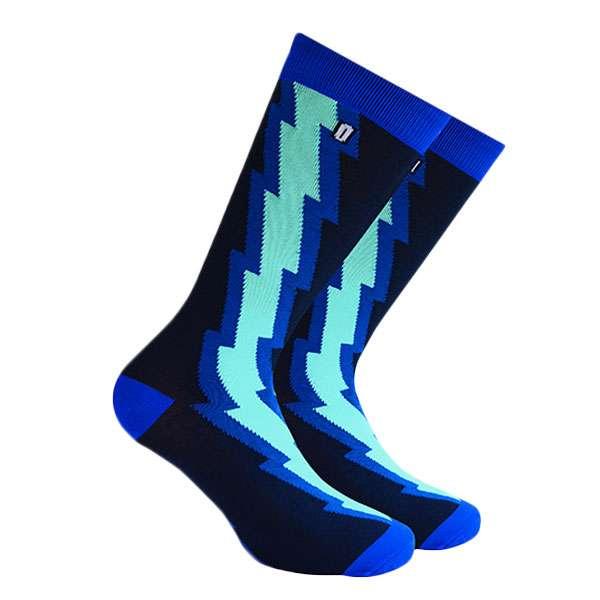 Thunder Blue Calcetín con Diseño Original