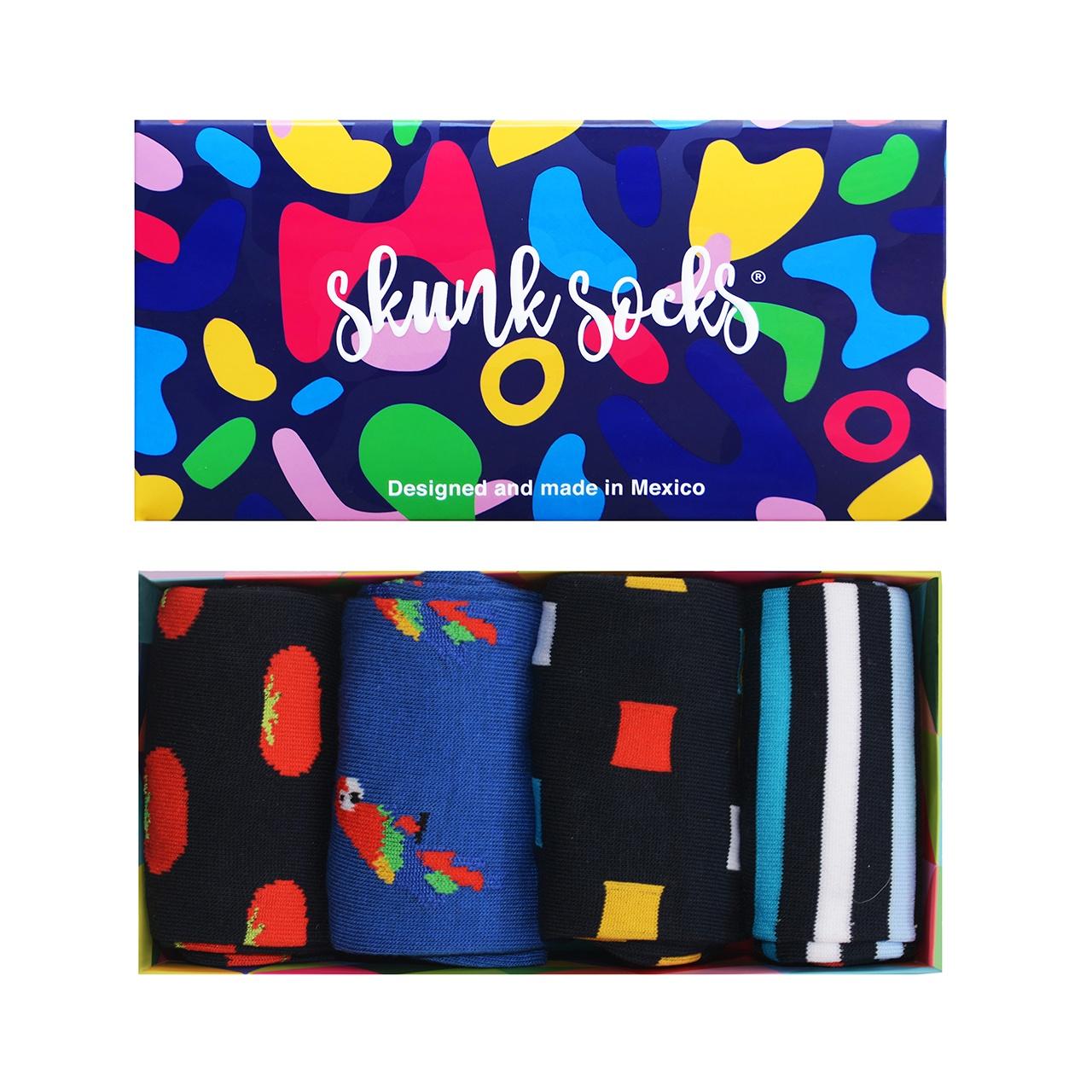 Paquete 3 Calcetines Diseños Divertidos