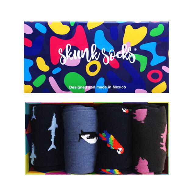 Paquete 8 Calcetines Diseños Divertidos