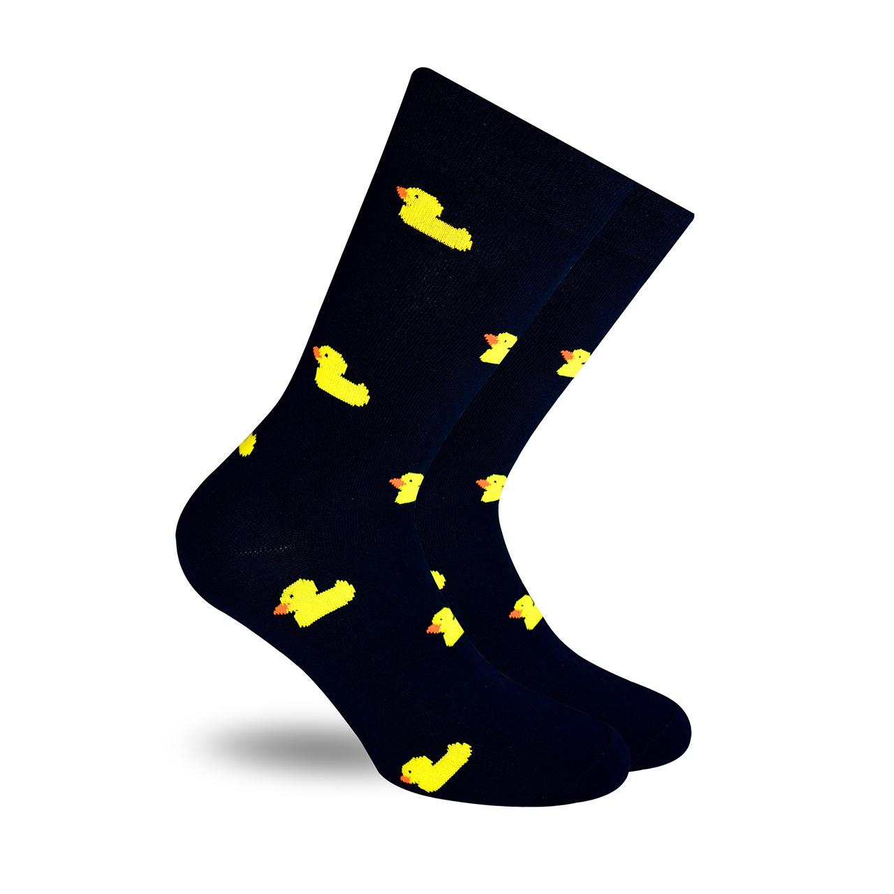 Patito de Hule Marino calcetines divertidos